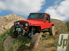 Wallpapers Cars jeep cj-8 (1982)