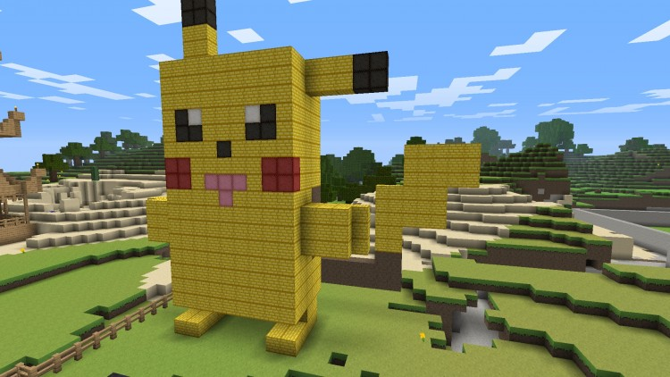 Wallpapers Video Games Minecraft Pika-Pikaa