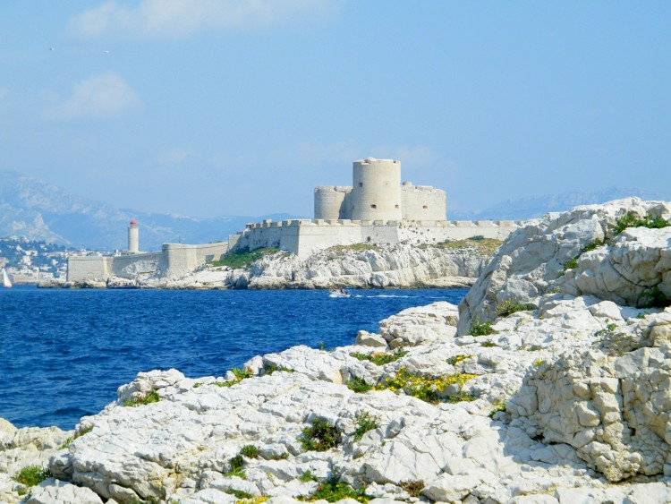 Wallpapers Trips : Europ France > Provence-Alpes-Côte d'Azur chateau d if marseille