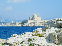 Wallpapers Trips : Europ chateau d if marseille
