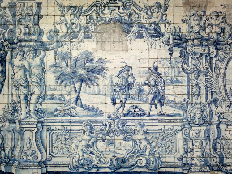 Fonds d'écran Voyages : Europe Portugal Azulejos