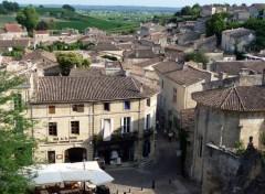 Fonds d'écran Constructions et architecture Petite ville de St Emilion