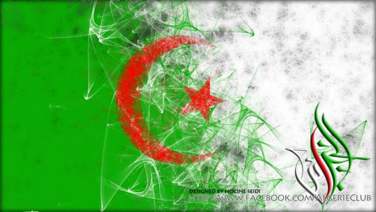 Wallpapers Digital Art Wallpapers Travel Flags Algerie