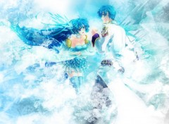 Fonds d'écran Manga Love Sky