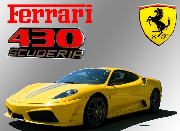 Fonds d'écran Voitures Ferrari Ferrari F430 Scuderia
