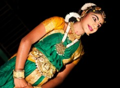 Wallpapers Trips : Asia danseuse indienne traditionnelle