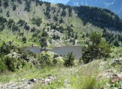 Fonds d'écran Voyages : Europe Alpes - Lac