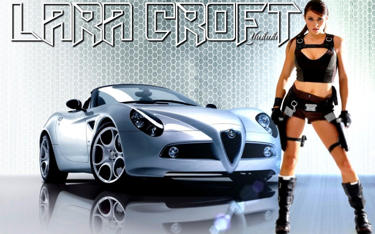 Wallpapers Cars Girls and cars Wallpaper N°280771
