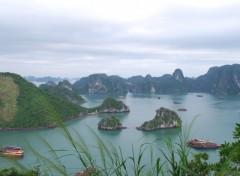 Fonds d'écran Voyages : Asie BAIE D HALONG