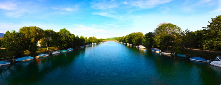 Wallpapers Nature Canals Canal de Nidau