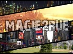 Fonds d'écran Art - Numérique Magie2rue à New York
