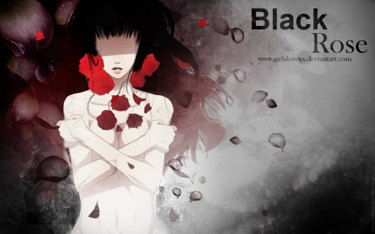 Fonds d'écran Manga Black Rose A Flower in the Darkness