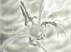 Fonds d'écran Art - Crayon Drakaina