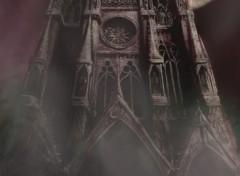 Fonds d'écran Art - Numérique Cathedrale gothique