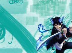 Fonds d'écran Manga Blue exorcist