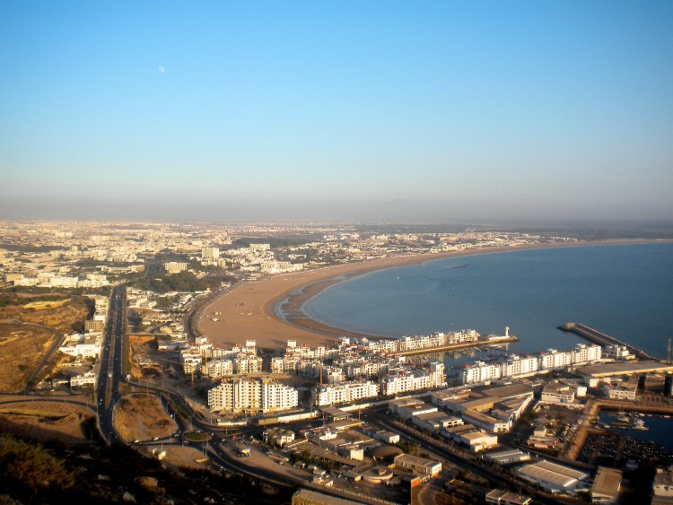 Wallpapers Trips : Africa Morocco Baie d'Agadir (Maroc)