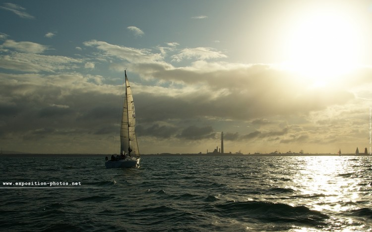 Wallpapers Boats Sailboats Baie de Dublin