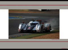 Wallpapers Sports - Leisures Audi R18 - 24 heures du Mans 2011 by bewall.com