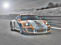 Fonds d'écran Voitures Porsche GT3 R 2011 by bewall.com