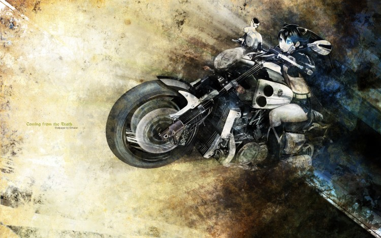 Wallpapers Manga Black Rock Shooter Coming from the Death