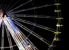 Wallpapers Constructions and architecture night wheel