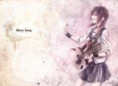 Fonds d'écran Manga Brave Song