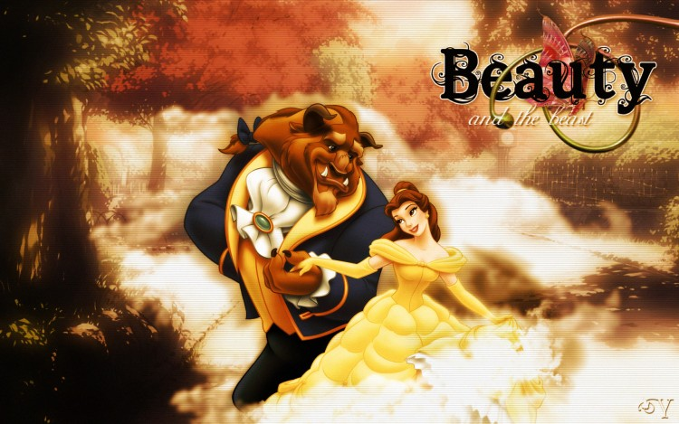 Fonds d'écran Dessins Animés La Belle et la Bête Beauty and the beast