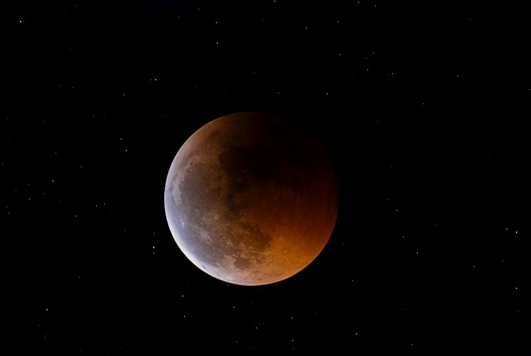 Wallpapers Space Moon Eclipse