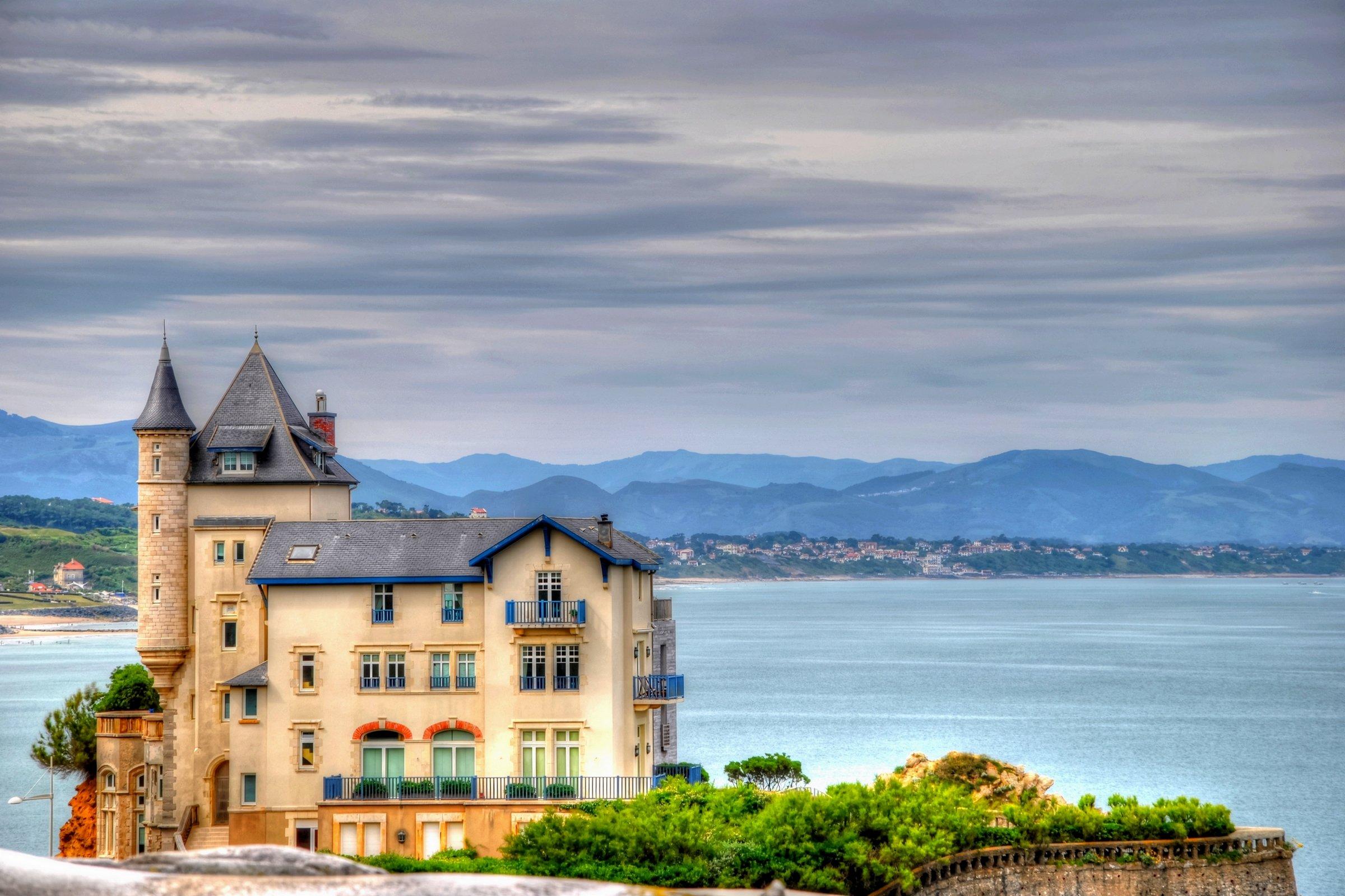 Fonds d'écran Nature Mers - Océans - Plages Biarritz