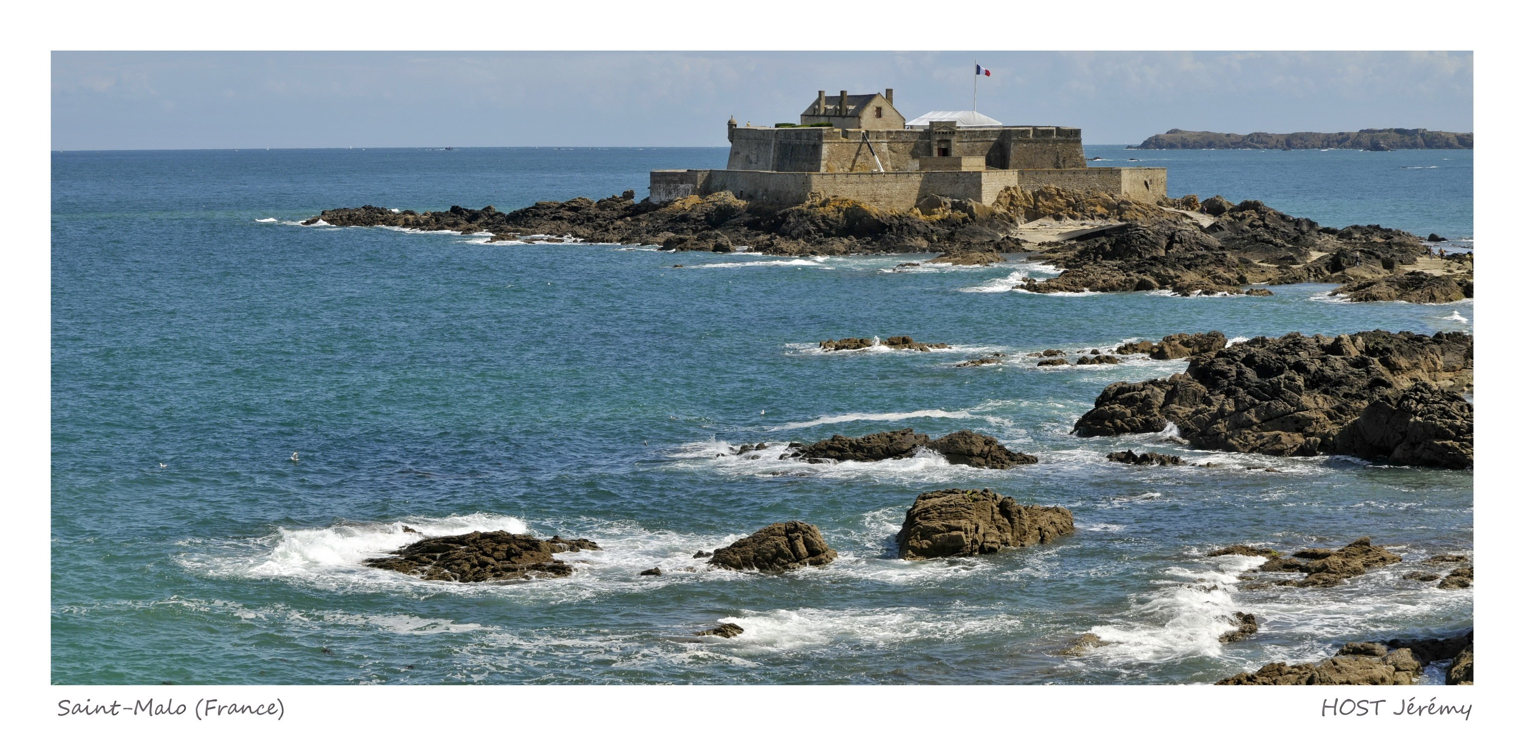 Fonds d'écran Voyages : Europe France > Bretagne Fort national de Saint Malo