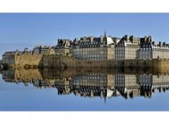 Fonds d'écran Voyages : Europe Saint Malo .2 (reflet rajouté)