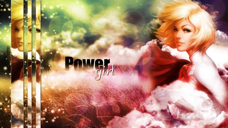 Fonds d'écran Comics et BDs Supergirl Power girl