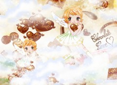 Fonds d'écran Manga Chocolate love