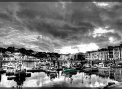Wallpapers Boats Saint Jean de Luz port