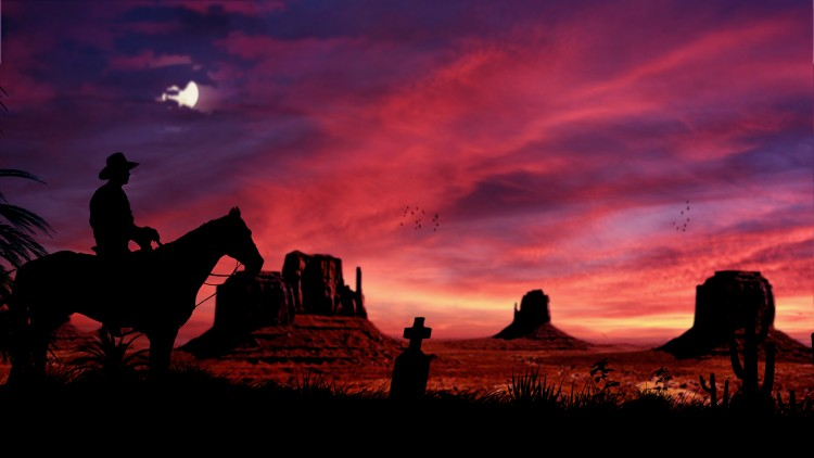 Wallpapers Digital Art Compositions 2D cowboy
