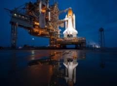 Fonds d'écran Espace Dernier vol pour Atlantis