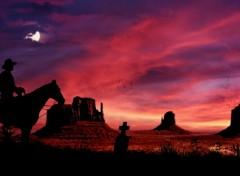 Fonds d'écran Art - Numérique cowboy