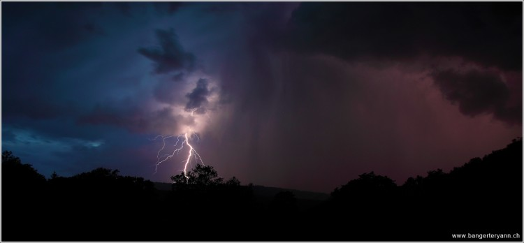 Wallpapers Nature Lightning L'orage