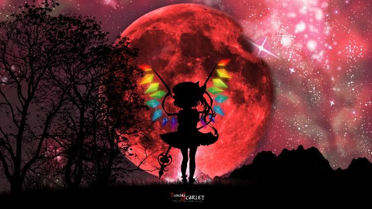 Fonds d'écran Manga Touhou Project Scarlet Devil