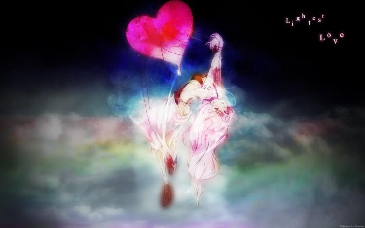 Fonds d'écran Manga Vocaloïds Lightest Love