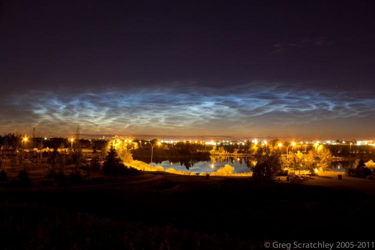 Wallpapers Nature Skies - Clouds Noctulicent Clouds