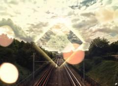 Fonds d'écran Art - Numérique Line to Paris