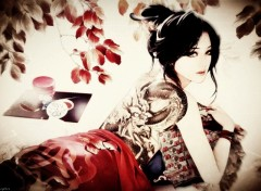Wallpapers Digital Art Japanese Dream
