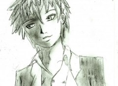 Fonds d'écran Art - Crayon jeune garçon