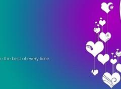 Fonds d'écran Art - Numérique Hearts