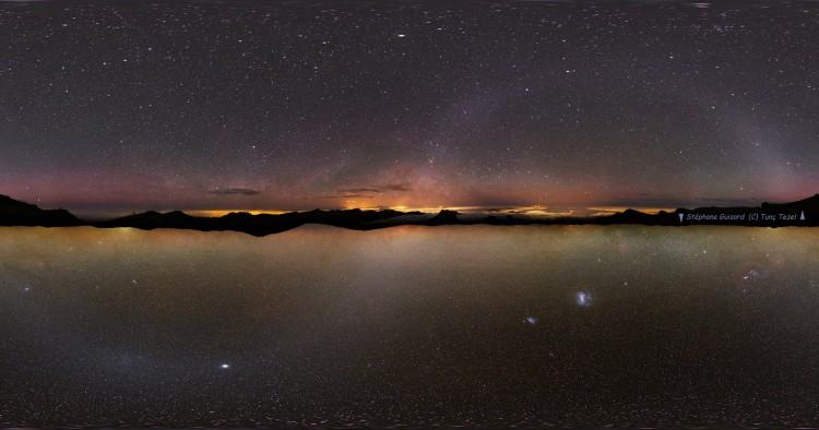 Wallpapers Space Stars - Nebulae Double horizon