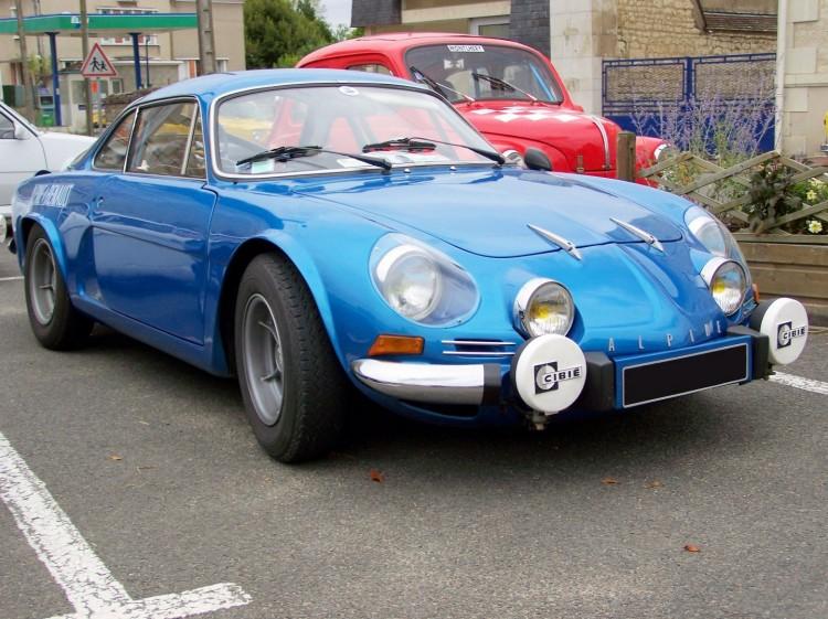 Fonds d'écran Voitures Renault Renault alpine