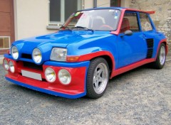 Wallpapers Cars renault 5 turbo