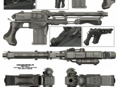 Wallpapers Digital Art Demembreur. Fusil d'assault.