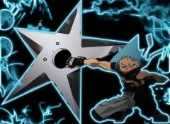 Fonds d'écran Manga Black_Star